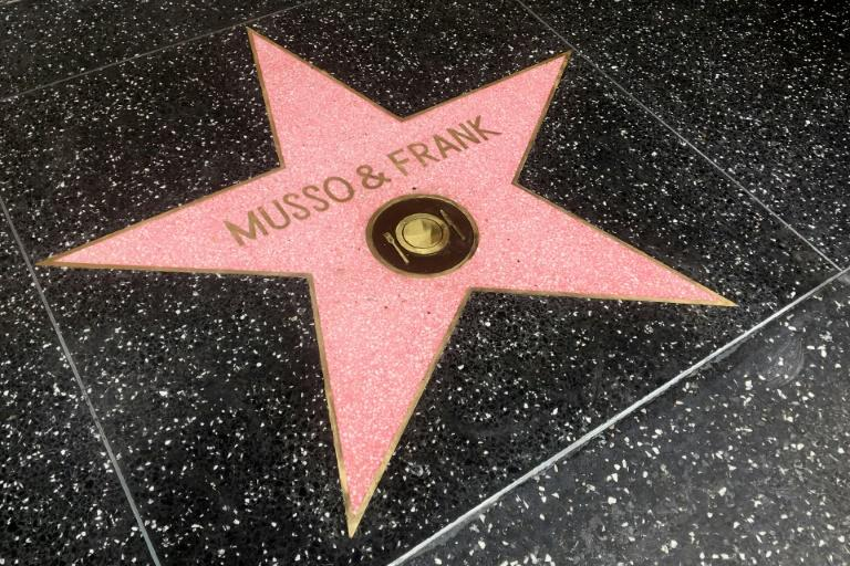 Musso & Frank became the first restaurant to get its own star on the Hollywood Walk of Fame
