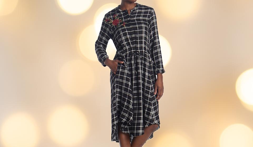 Plaid is always going to be in style. (Photo: Nordstrom Rack)