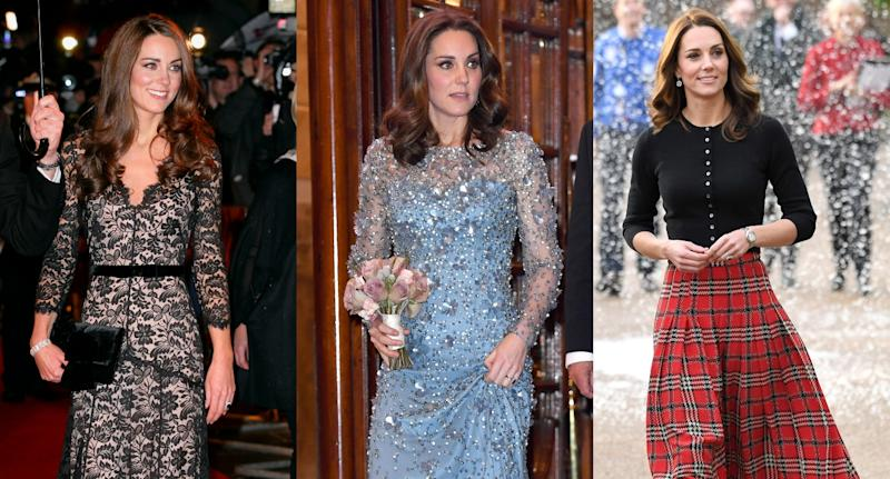 Relembre os looks mais incríveis de Kate Middleton (Foto: Getty Images)