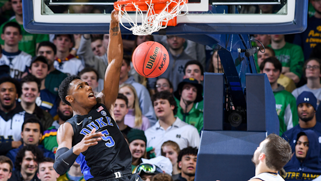 R.J. Barrett posted huge counting numbers in his freshman season at Duke, but there were some hidden inefficiencies involved that make him a difficult prospect to peg.