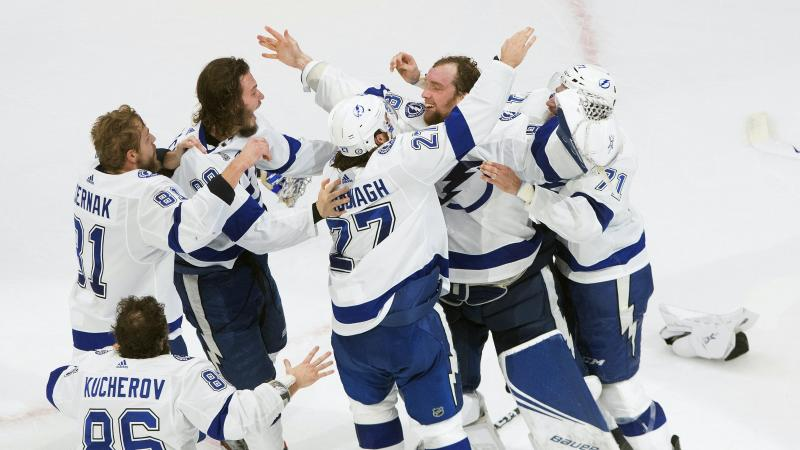 Tampa Bay Lightning take NHL's Stanley Cup