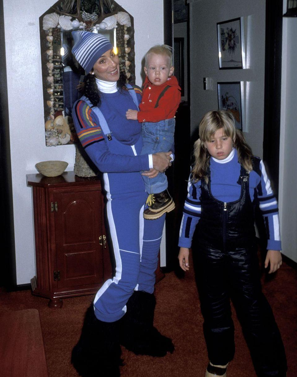 <p>The ski slopes are the one place that 80's style has continued to thrive– the bright colors and layers on Cher's outfit are perfect for a fun day on the mountain. </p>