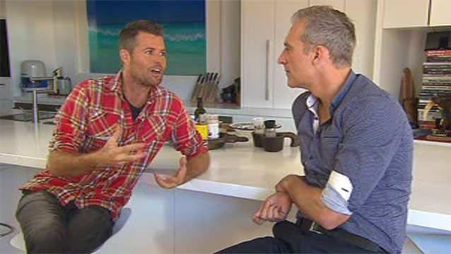 Dr Andrew Rochford asked Paleo advocate and celebrity chef Pete Evans about why he converted to the 'Paleo Way'. Photo: 7News