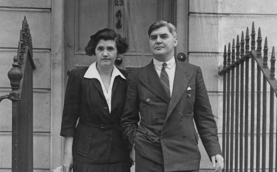 Welsh MP Nye Bevan and his wife Jennie Lee, who was also an MP - Keystone/Hulton Archive