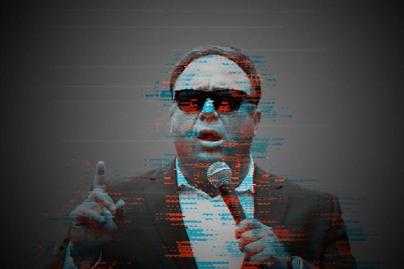 Alex Jones willfully destroyed evidence related to his Sandy Hook defamation cases, a lawyer for the parents says. (Photo: Illustration: HuffPost. Photo: Reuters)