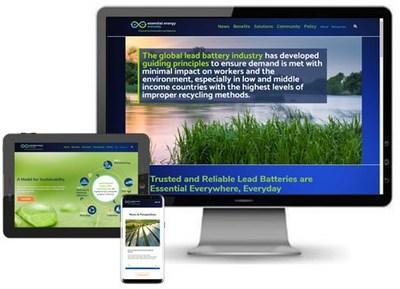 A new website from Essential Energy Everyday and Battery Council International provides the latest information on lead batteries and their use in renewable energy storage, transportation, data centers and telecommunications. The site is device-friendly for desktop, tablet and mobile viewing.