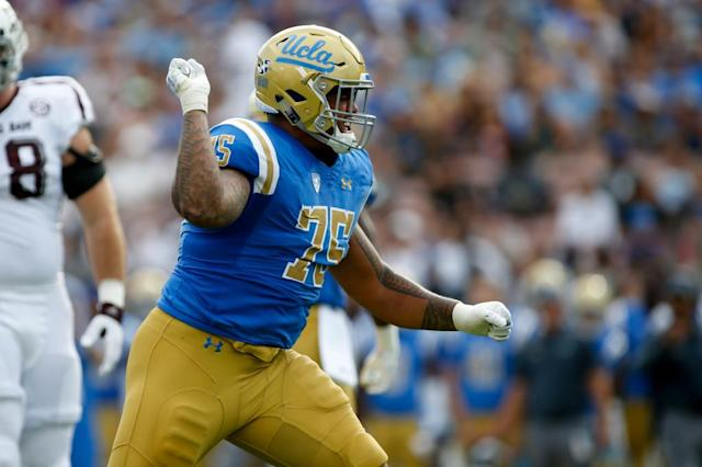 Boss Tagaloa at center is 'a relief' for UCLA offense