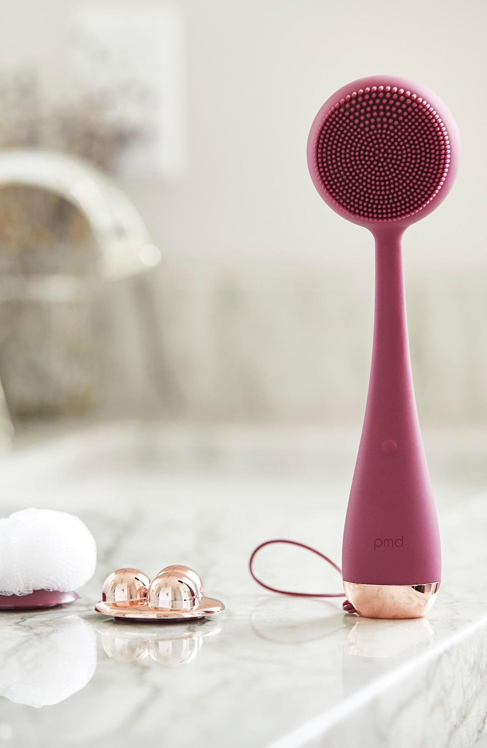 <p>The <span>PMD Clean Body Cleansing Device</span> ($159) will be the only body device you'll need! It has silicon bristles, perfect for cleansing your body from head to toe! It also comes with antibacterial attachements such as a pumice stone and a silver-infused loofah for deeper exfoliation, and a massager for relaxation. The PMD Clean Body Device is odor-resistant, antibacterial, hypoallergenic and waterproof.</p>