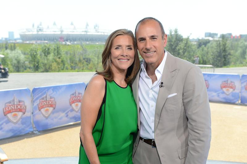 TODAY -- Pictured: (l-r) Meredith Vieira, Matt Lauer -- (Photo by: Dave Hogan/NBC Newswire/NBCUniversal via Getty Images/NBCU Photo Bank via Getty Images)