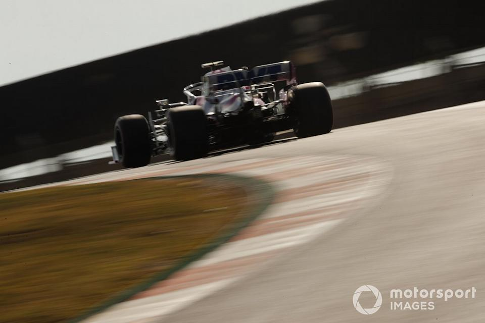 "Lance Stroll, Racing Point RP20<span class=""copyright"">Zak Mauger / Motorsport Images</span>"
