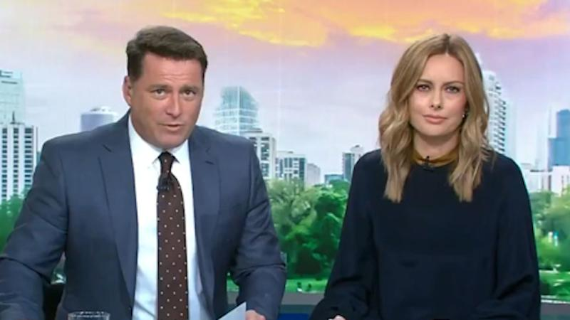 Karl Stefanovic and Allison Langdon made their Today show debut together yesterday. Photo: Channel 10