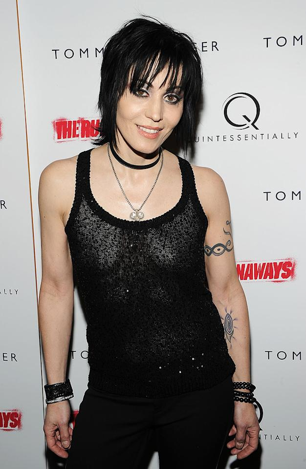 "Rocker Joan Jett turns 53. Theo Wargo/<a href=""http://www.wireimage.com"" target=""new"">WireImage.com</a> - March 17, 2010"