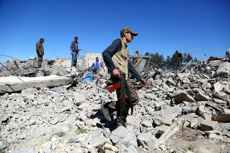 Turkish airstrikes in  Syria have targeted Kurdish People's Protection Units -- Turkey considers the group a terror outfit
