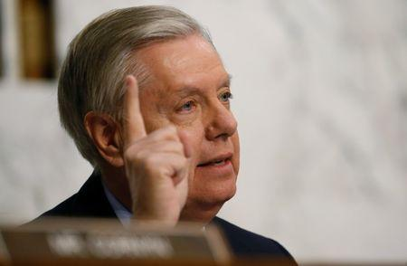 Republican Sen. Graham curious on Trump business deals