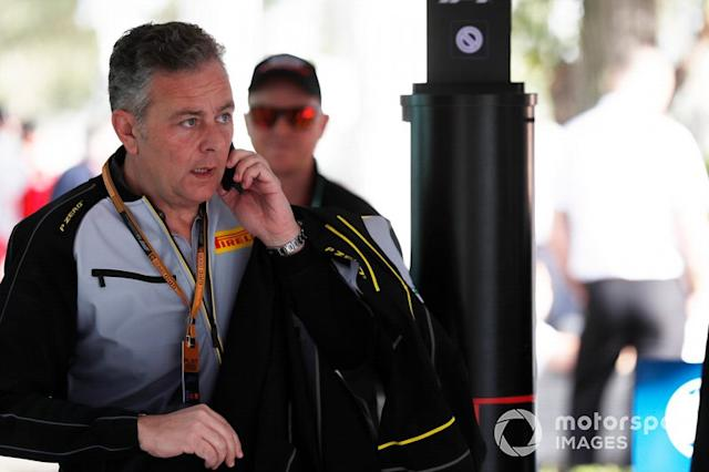"Mario Isola, director de carreras, Pirelli Motorsport <span class=""copyright"">Sam Bloxham / Motorsport Images</span>"
