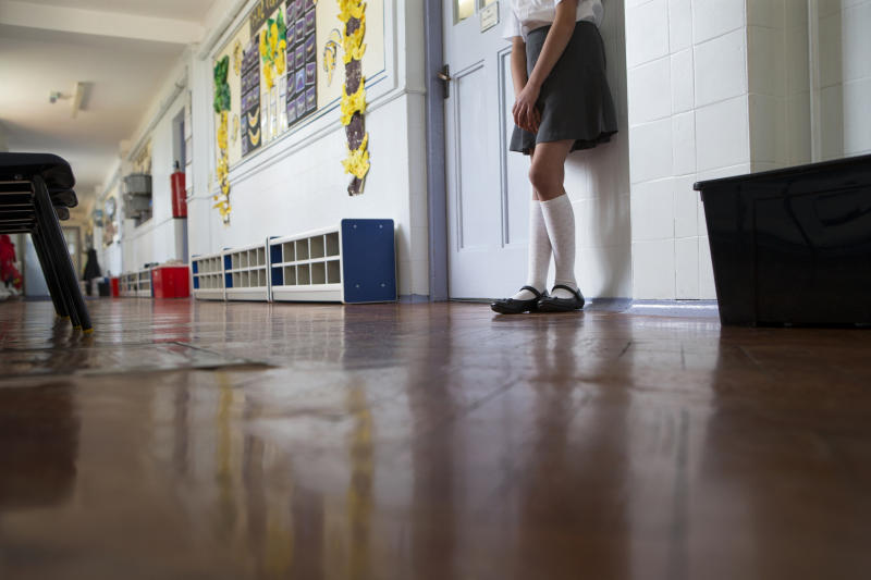 The school girl was allegedly removed from class [Photo: Getty]