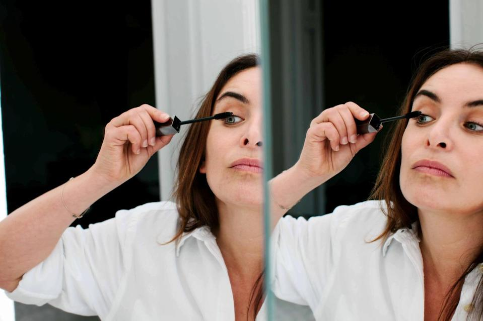 Burberry mascara is my go-to. It's the most natural mascara on the market.