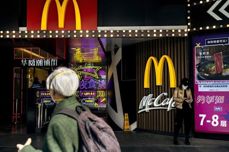 McDonald's is expanding its restaurant chain in China. Photo: Bloomberg