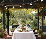 """<p>Spring and summer is the ideal time for enjoying the outdoor space, and alfresco dining is set to be bigger than ever this year. Outdoor entertaining and kitchen areas will be a key trend, says <a rel=""""nofollow noopener"""" href=""""https://www.greenhousepeople.co.uk/"""" target=""""_blank"""" data-ylk=""""slk:The Greenhouse People"""" class=""""link rapid-noclick-resp"""">The Greenhouse People</a>. """"It's perfect for those of us who lack space in our kitchens or dining rooms, as we can move entertaining friends and family outside,"""" they explain. """"Create a dedicated area with comfy furniture and mood lighting, complete with a sunken fire pit, BBQ or pizza oven.""""</p><p>According to award-winning garden designer <a rel=""""nofollow noopener"""" href=""""http://www.sgd.org.uk/garden-designer/john-wyer-fsgd_182.aspx?DirectorySearchPageId=1007"""" target=""""_blank"""" data-ylk=""""slk:John Wyer FSGD"""" class=""""link rapid-noclick-resp"""">John Wyer FSGD</a>, outdoor structures – not just your average summerhouse – will also be big. Plug and Play' pergolas – with integrated drainage, lighting and heating will be the must-have garden feature, while outdoor kitchens with dedicated spaces for cooking, eating and entertaining will become a central focus.</p><p><a rel=""""nofollow noopener"""" href=""""https://www.theposhshedcompany.co.uk/"""" target=""""_blank"""" data-ylk=""""slk:The Posh Shed Company"""" class=""""link rapid-noclick-resp"""">The Posh Shed Company</a> also predicts that the popularity of verandas, which the company noticed more customers asking for in 2017, will continue to rise this year.</p>"""