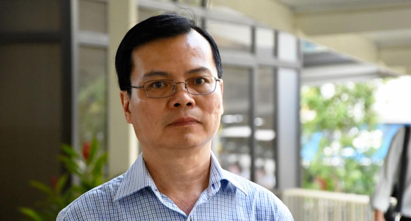 Wong Chee Meng, 59, pleaded guilty to three counts of receiving bribes of more than $100,000 in the form of entertainment expenses, a discount on a purchase of a car and remittances to his mistress in China. (Yahoo News Singapore file photo)
