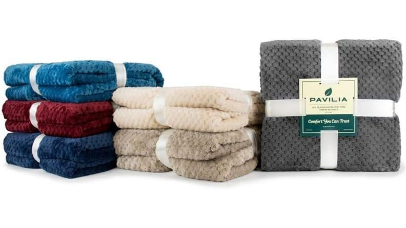 Stay warm and comfy with these blankets.