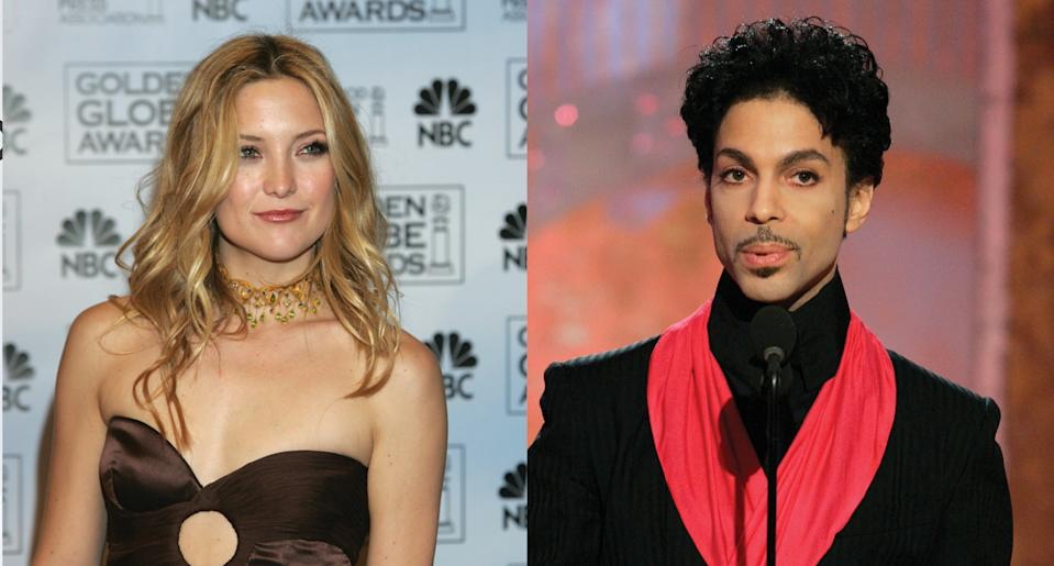 Kate Hudson shares funny story from 2005 Golden Globes involving Prince