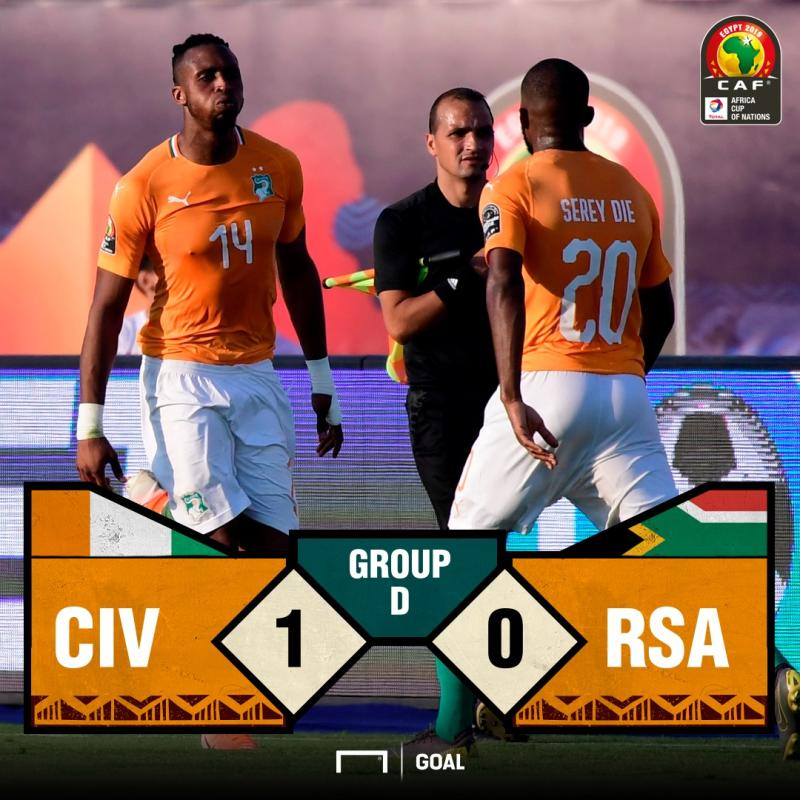 Ivory Coast 1 - 0 South Africa PS