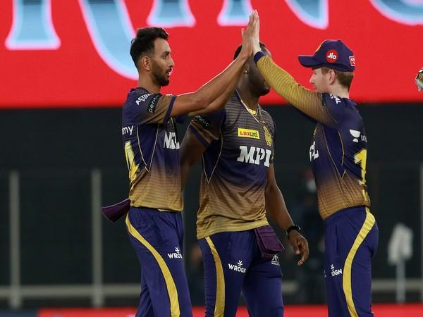 KKR is seventh on the points table in IPL 14. (Photo/ IPL Twitter)