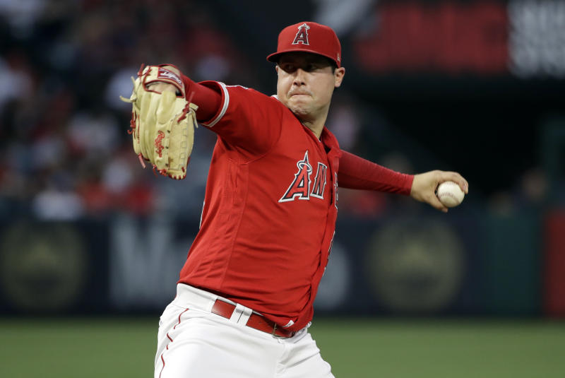 Criminal charges could be looming over the death of Tyler Skaggs. (AP Photo/Marcio Jose Sanchez, File)
