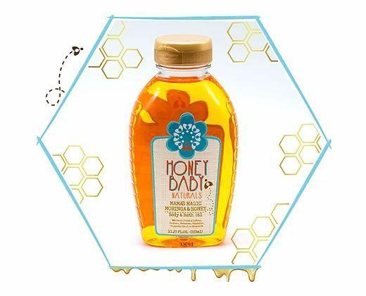 """<p><strong>Honey Baby Naturals</strong></p><p>honeybabynaturals.com</p><p><strong>$12.99</strong></p><p><a href=""""https://www.honeybabynaturals.com/product-page/mama-s-magic-moringa-honey-oil"""" rel=""""nofollow noopener"""" target=""""_blank"""" data-ylk=""""slk:Shop Now"""" class=""""link rapid-noclick-resp"""">Shop Now</a></p><p>Inspired after her three children's curly hair textures, Aisha Ceballos-Crump uses honey as the foundation of her products aimed towards other moms. This multipurpose dry oil is quick absorbing and it can be put on hair to nourish it or illuminate dull skin with long-lasting moisture.</p>"""