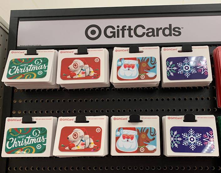 Target's gift card sale is Dec. 8 and store gift cards are 10% off. Some exclusions apply.