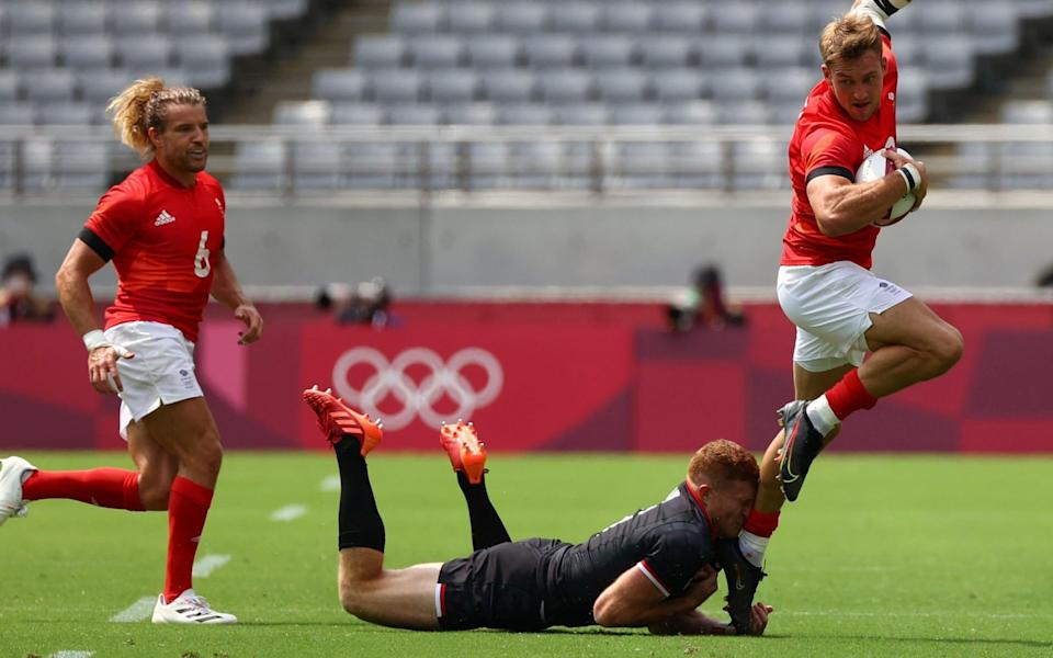 England beat Canada 24-0 in their opener in Tokyo - REUTERS