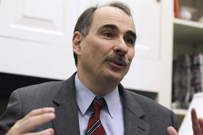 FILE - This Jan. 28, 2011, file photo shows David Axelrod, outgoing senior White House adviser to President Barack Obama, during an interview with the Associated Press at the White House. Axelrod, who is a former political reporter for The Chicago Tribune, has known the president since the early 1990s and was a driving force behind Obama's message of change during the 2008 campaign. He is a calming influence on the Obama 2012 campaign team and has helped focus on middle-class voters.  (AP Photo/Charles Dharapak, File)