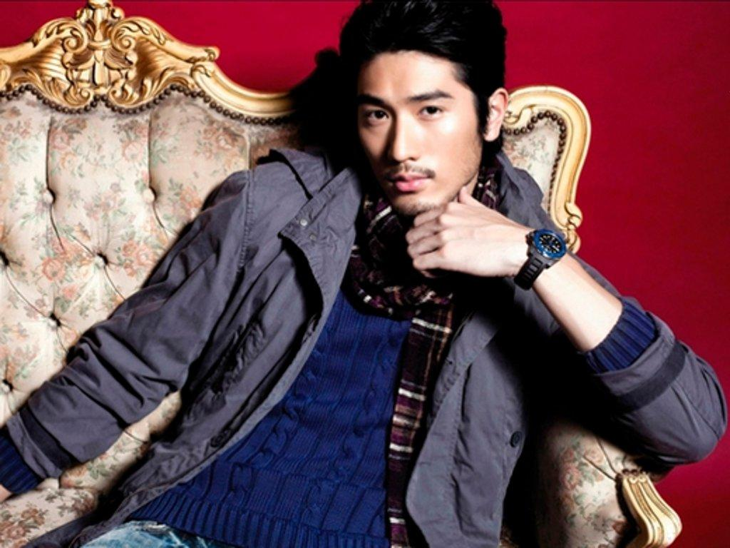 <p>Taiwanese-born Canadian model and actor Godfrey Gao finished at number 3. He has also appeared in Hollywood films. </p>