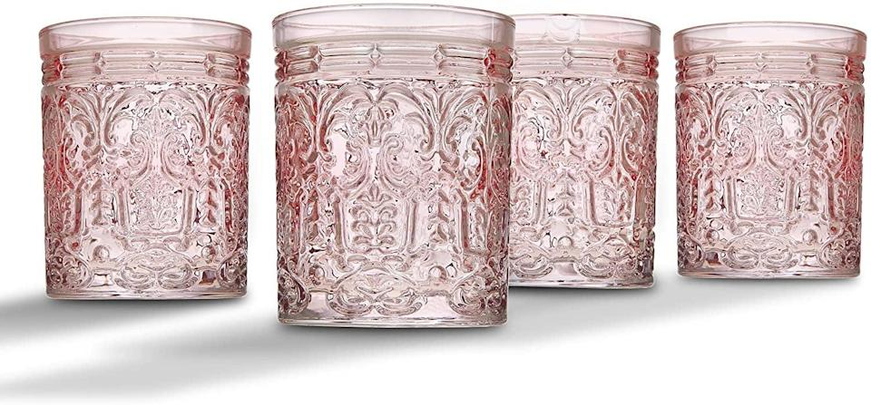 <p>We're absolutely obsessed with these trendy <span>Godinger Jax Double Old Fashioned Beverage Glass Cups</span> ($20 for four). It's perfect for the one who loves to host.</p>