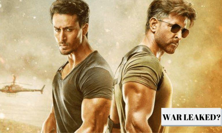 WAR Gets Leaked On Tamilrockers, Producers To Face Losses?
