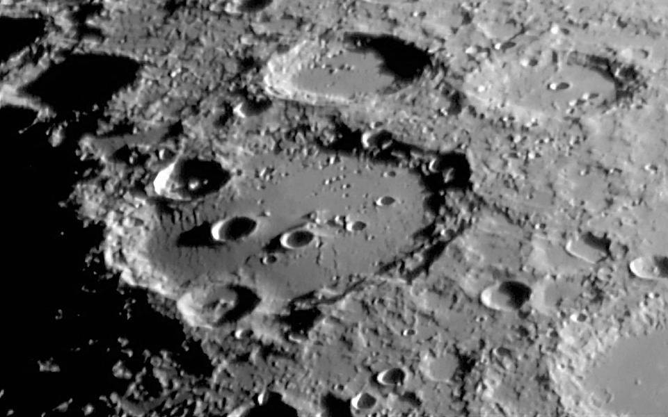 The Clavius Crater is located at the southern hemisphere of the Moon - Jamie Cooper/SSPL