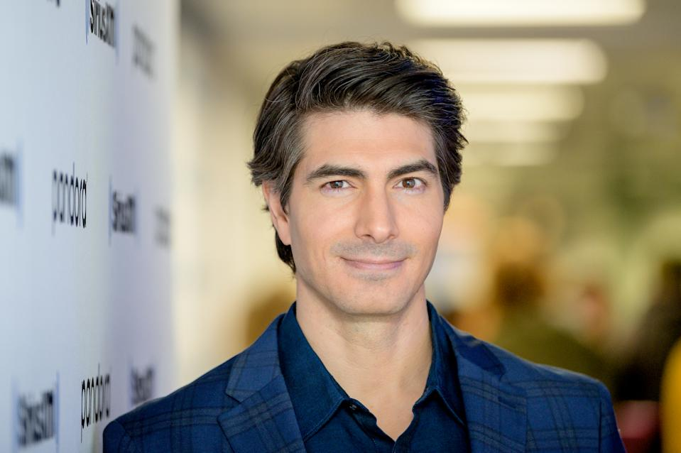 NEW YORK, NEW YORK - DECEMBER 10: (EXCLUSIVE COVERAGE) Brandon Routh visit SiriusXM Studios on December 10, 2019 in New York City. (Photo by Roy Rochlin/Getty Images)