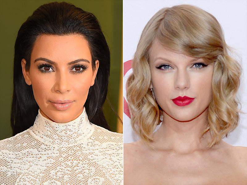 KIM KARDASHIAN WEST IS A SELF-PROCLAIMED TAYLOR SWIFT SUPERFAN