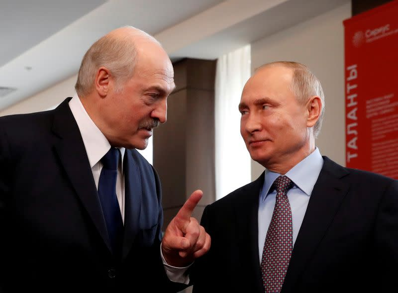 Belarus leader looks to Putin to help him cling on to power