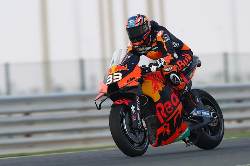 Binder not worried by Petrucci's lack of KTM experience