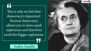 Quotes by Indira Gandhi
