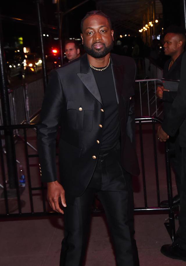 Dwyane Wade attends the 2019 Met Gala Boom Boom Afterparty at The Standard hotel on May 06, 2019 in New York City. (Photo by Daniel Zuchnik/GC Images)