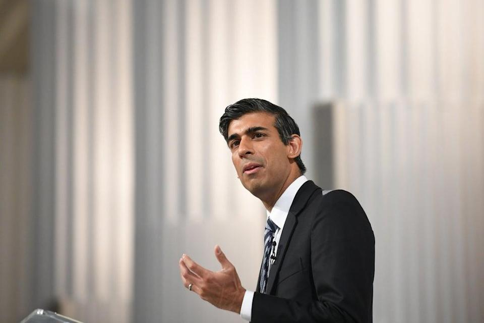 Chancellor Rishi Sunak said the Treasury acted 'entirely appropriately in relation to Greensill' (Stefan Rousseau/PA) (PA Wire)