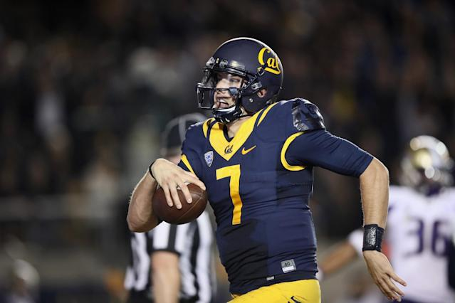 Cal QB Davis Webb could be a surprise pick in Round 2. (Getty Images)