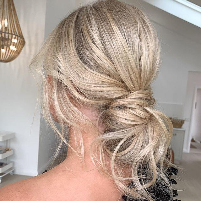 "<p>You literally cannot go wrong with an elegantly undone chignon. </p><p><a href=""https://www.instagram.com/p/B7njxbtAsS4/?utm_source=ig_embed&utm_campaign=loading"">See the original post on Instagram</a></p>"