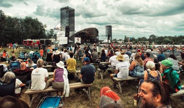 As the COVID-19 pandemic wears on, the Winnipeg Folk Festival, seen here in 2019, won't be back this summer. It's the second year in a row organizers have had to cancel the festival.  (Justin Deeley/CBC - image credit)
