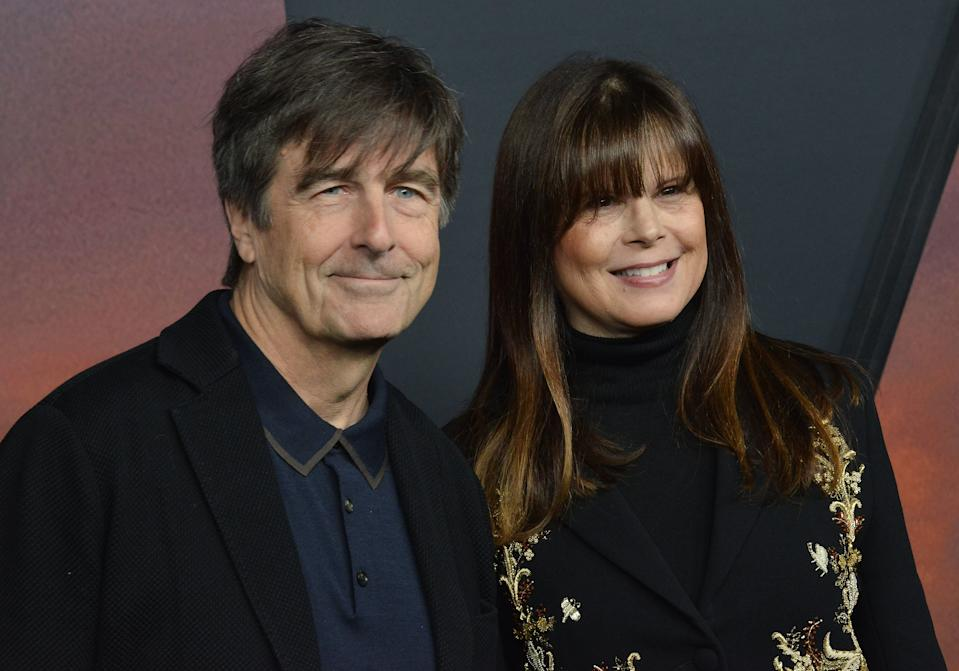 Thomas Newman and Ann Marie Zirbes at the Universal Pictures� 1917 Los Angeles Premiere held at the TCL Chinese Theater in Hollywood, CA on Wednesday, ?December 18, 2019. (Photo By Sthanlee B. Mirador/Sipa USA)
