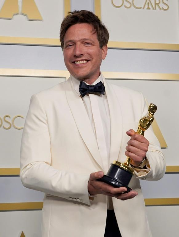 Danish director Thomas Vinterberg offered the most poignant moment of Oscars night