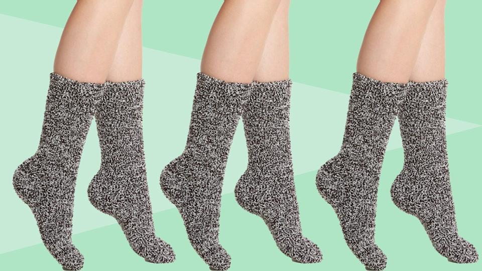 I Have Perennially Cold Feet, and These Ultra-Soft Socks Are the Only Ones That Keep Them Warm